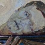 Głowa św. Jana I, 1909 - 1019, ol., dykta