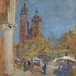 Kościół Mariacki w Krakowie, 1917