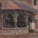Ogrojec przy kościele św. Barbary w Krakowie, lata 20. XX wieku