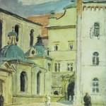 Wejście na dziedziniec wawelski, 1920 - 1935