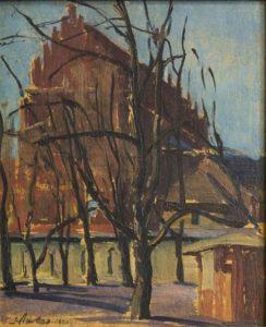 70. Kościół pw. Świętej Trójcy w Krakowie, 1920 r., kliknij w obrazek i przeczytaj więcej